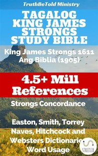 Tagalog King James Strongs Study Bible - Librerie.coop