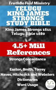 Telugu King James Strongs Study Bible - Librerie.coop