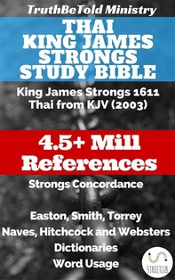Thai King James Strongs Study Bible - Librerie.coop