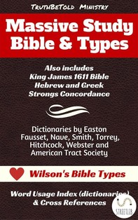 Massive Study Bible & Types - Librerie.coop
