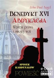 Benedykt XVI Abdykacja - copertina
