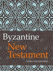 Byzantine New Testament - copertina