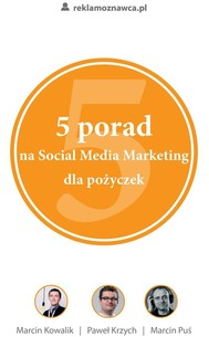 5 porad na Social Media Marketing dla pożyczek - copertina