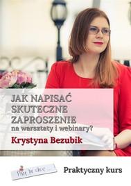 Jak napisać skuteczne zaproszenie na warsztaty i webinary - copertina