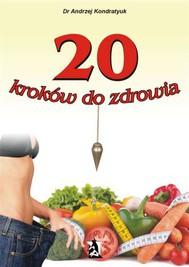 20 kroków do zdrowia - copertina