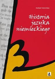 Historia języka niemieckiego - copertina