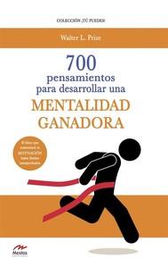 700 Pensamientos para desarrollar una mentalidad ganadora - copertina