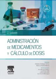 Administración de medicamentos y cálculo de dosis + StudentConsult en español - copertina