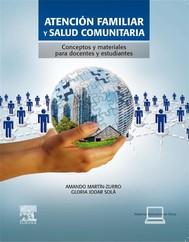 Atención familiar y salud comunitaria + StudentConsult en español - copertina