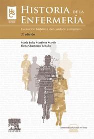 Historia de la enfermería + StudentConsult en español - copertina