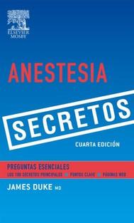 Anestesia. Secretos - copertina
