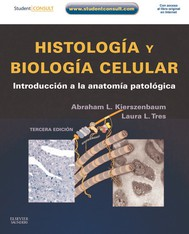Histología y biología celular + Student Consult - copertina
