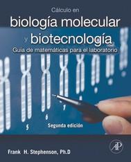 Cálculo en biología molecular y biotecnología + StudentConsult en español - copertina