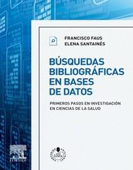 Búsquedas bibliográficas en bases de datos + StudentConsult en español - copertina