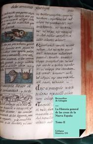 Historia general de las cosas de la Nueva España II - copertina