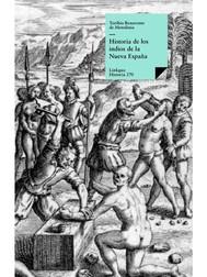 Historia de los indios de la Nueva España - copertina