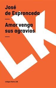Amor venga sus agravios - copertina