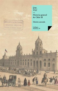 Historia general de Chile III - copertina