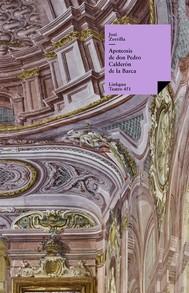 Apoteosis de don Pedro Calderón de la Barca - copertina