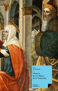 Historia de sor María de la Visitación - copertina