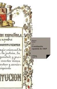 Constitución española de 1869 - Librerie.coop