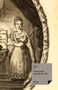 Constitución española de 1837 - Librerie.coop
