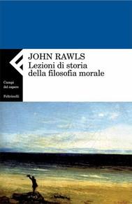 Lezioni di storia della filosofia morale - copertina