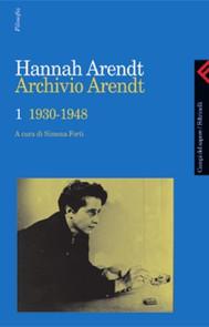 Archivio Arendt  1 - copertina
