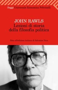 Lezioni di storia della filosofia politica - copertina