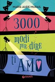 3000 modi per dire ti amo - copertina