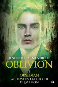 Oblivion I. Obsidian attraverso gli occhi di Daemon - copertina