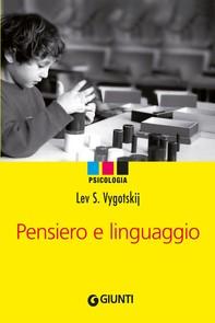 Pensiero e linguaggio - Librerie.coop