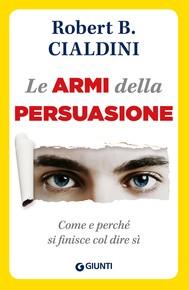Le armi della persuasione - copertina