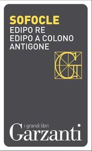 Edipo re – Edipo a Colono – Antigone - copertina