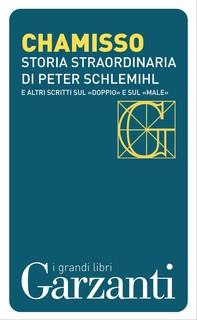 Storia straordinaria di Peter Schlemihl e altri scritti sul «doppio» e sul «male» - Librerie.coop