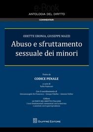 Abuso e sfruttamento sessuale dei minori - copertina