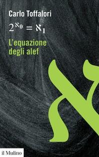 L'equazione degli alef - Librerie.coop