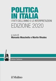 Politica in Italia. I fatti dell'anno e le interpretazioni. Edizione 2020 - Librerie.coop