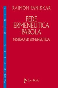 Fede, ermeneutica, parola - Librerie.coop
