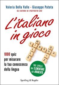 L'italiano in gioco - Librerie.coop