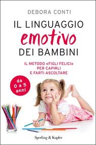 Il linguaggio emotivo dei bambini - copertina