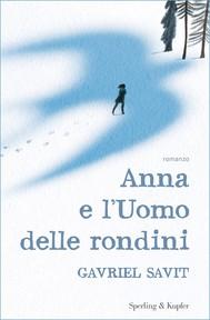 Anna e l'Uomo delle rondini - copertina