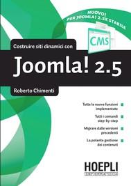 Costruire siti dinamici con Joomla 2.5 - copertina