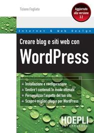 Creare blog e siti web con WordPress - copertina