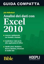 Analisi dei dati con Excel 2010 - copertina