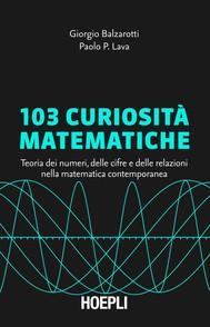 103 curiosità matematiche - copertina