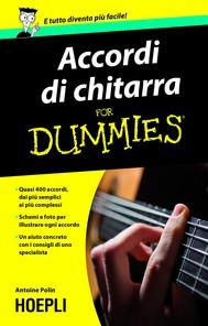 Accordi di chitarra For Dummies - copertina