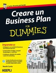 Creare Business Plan For Dummies - copertina