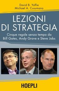 Lezioni di strategia - copertina