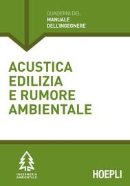 Acustica edilizia e rumore ambientale - copertina